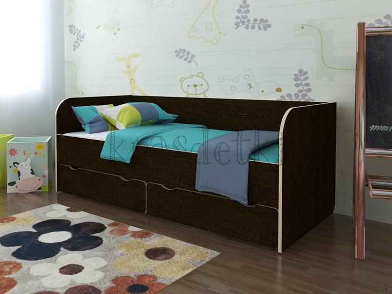 Двухъярусные кровати из массива дерева